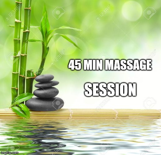 45 minute massage, package deal, by Cindy Larson, Ames